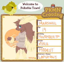 PKMN-Crossing: Marshall App by quartine