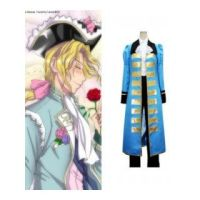 Axis Powers Hetalia France Blue Cosplay Costume by Leonaclick