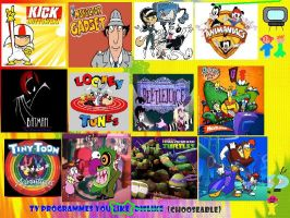 My Top 12 Cartoon Show Faves by TXToonGuy1037