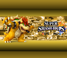 Bowser Wallpaper New by CrossoverGamer