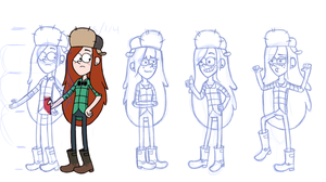 Wendy Practice Sketches by Ice-Fire-Bolt
