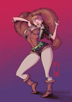 Squirrel Girl by WhotheFuckisRemBroo
