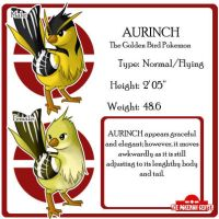 Fake Pokemon : Aurinch by leedom111