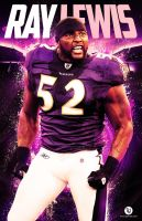 Ray Lewis by rjartwork