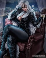 Black Cat by Laurart88