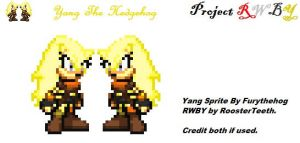 RWBY Mobius Edition: Yang by furythehog