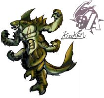 Kaiju Wars: Kraken by Blabyloo229