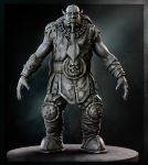 Okthar, the Orc by HiveMedia