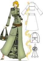 trench coat suit n6 by meijieishere