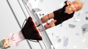 {MMD} Crumbling Reflections by Rilianne