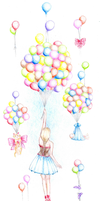 Baloons by LineBorowski