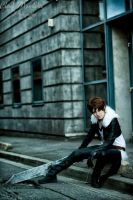 Squall Leonhart 'Within Me' by Hirako-f-w