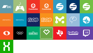 Metro Style Website Icons by kuenzign
