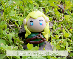 Legolas Clay Chibi Charm by Comsical