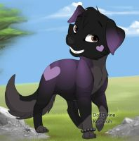 Miroku Puppy by InuyashaRules6596