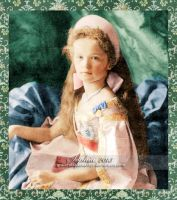 Little Grand Duchess Olga by GracefulTatiana1897