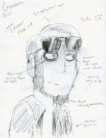 Trev Pencil Close Up by fanaticman