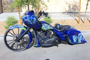 Mean Looking blue bagger by DrivenByChaos