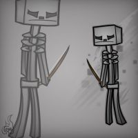 Minecraft Mob Spotlight: Skeleton by TruCorefire