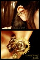 Clockwork Angel Ear Cuff by JynxsBox