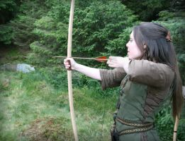 Forest Archery by Navanna