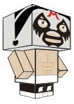 Mil mascaras cubeecraft by broshojun