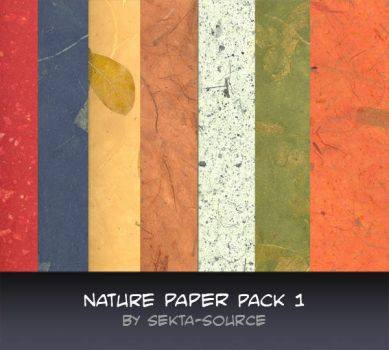 Nature paper pack 1 by sekta-source