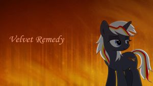 Velvet Remedy Wallpaper by Pony2Vector
