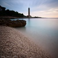 Lighthouse on the end by ivancoric