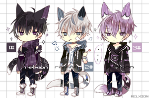 [AUCTION*CLOSED]Lineheart*39[MAFIA] by Relxion-kun
