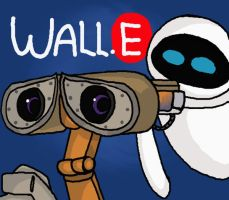 Wall.E by Doodlz18