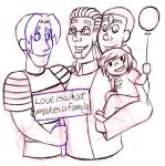 Love Is What Makes A Family sketch by LadyQueenBee