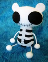 Skeleton Bear by plushrooms