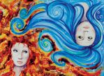 opposing elements by BettyPimm