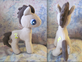 Doctor Hooves Plushie Commission by Ferngirl