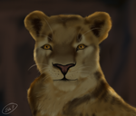 Lioness by Sipper-Paws