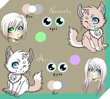 arie and nevaeh reff by nevaeh-lee