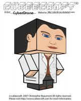 Cubeecraft - Walter Bishop by CyberDrone