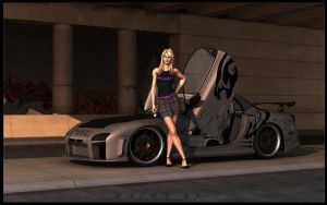 Mazda RX-7 by Saleri