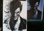 sketch time - joker by artworksOFjudge