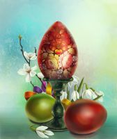 Easter still life by IgnisFatuusII