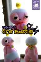 Abner the Easter Slouchy by cleody