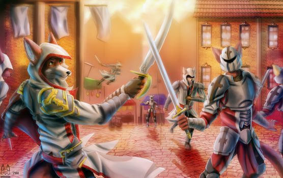 Collab - Dance of Steel by 7THeaven