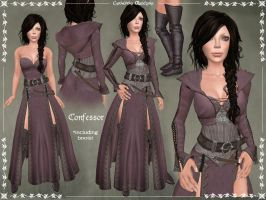 Confessor Outfit by Elvina-Ewing
