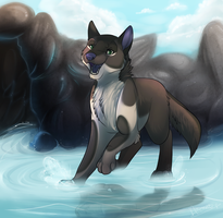 Enjoying the water |Prize| by Searii
