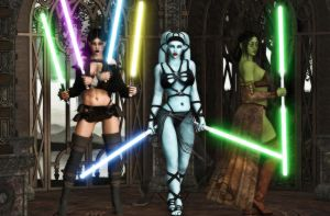 Adaavia and Co by SNZ by LoneStranger