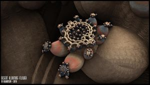 Desert Blooming Flower - Chain 00 Pong 265 by miincdesign