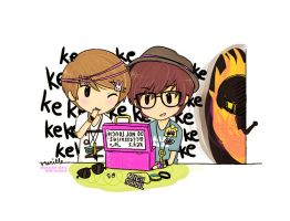 jongyu messing with key by keyandsnickers
