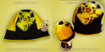 Pokemon Pikachu Hat by Alien-Snowflake