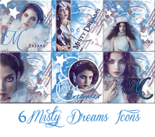 6 icons Misty Dreams by VaL-DeViAnT